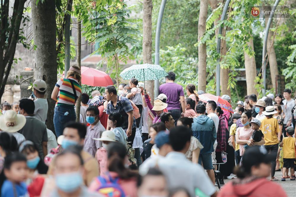 Biển người chật kín Thảo Cầm Viên Sài Gòn trong ngày giỗ Tổ Hùng Vương-7