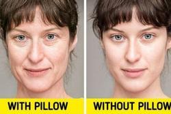 Đây là những điều kỳ diệu xảy ra với làn da của bạn nếu ngủ mà không có gối