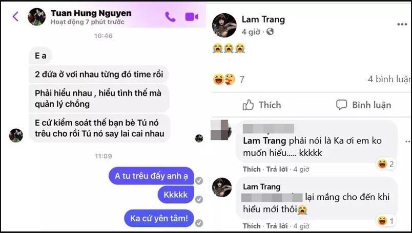 Hôn nhân Tú Dưa - Lam Trang: Từ bạn bè đến phụ huynh phải nhắc nhở-3