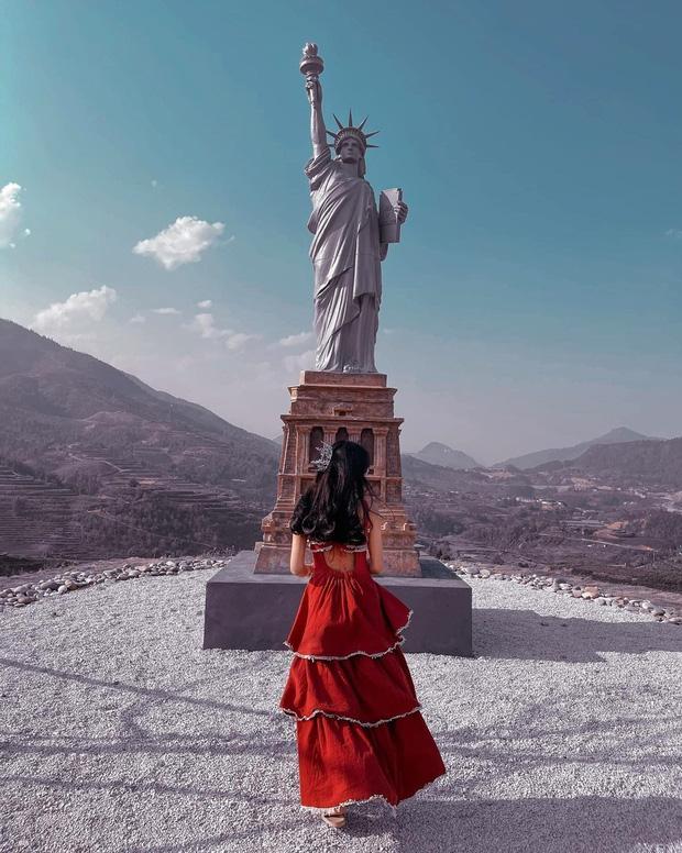 Chủ tượng Nữ thần Tự do phiên bản đột biến ở Sa Pa lên tiếng-5