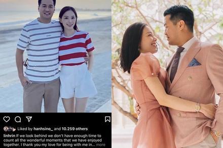 Linh Rin bỏ tiền chạy quảng cáo ảnh couple với Phillip Nguyễn?