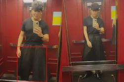 Nathan Lee diện 'váy' để đấu với Ngọc Trinh?