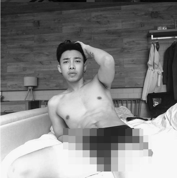 Stylist Hoàng Ku khoe sóng đánh bay quần khiến Sunht cũng