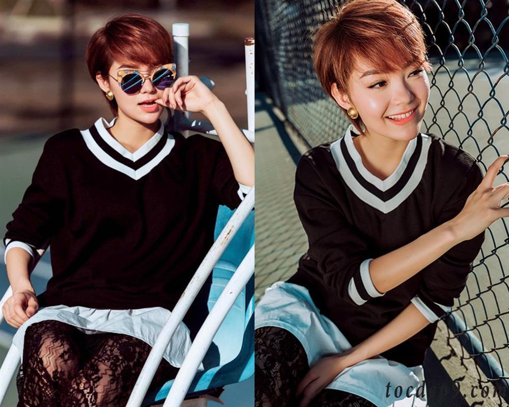 Minh Hằng cân đẹp mọi kiểu tóc từ tomboy đến nữ thần-2