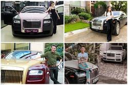 Điểm mặt sao Việt sở hữu xế khủng Rolls-Royce 40 tỷ đồng