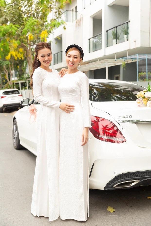 Lan Ngọc diện áo dài đẹp hơn cả cô dâu trong đám cưới em trai-4