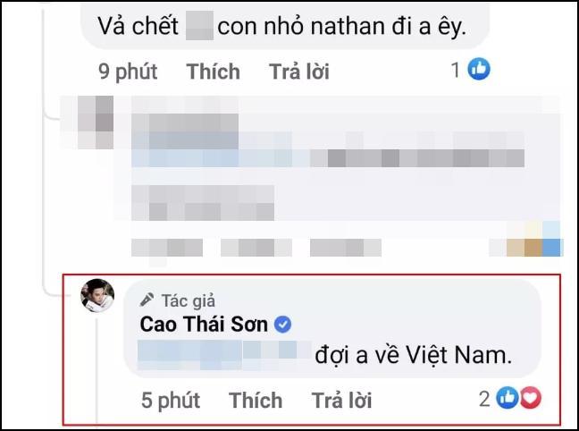 Bị Nathan Lee dọa vũ lực, Cao Thái Sơn còn lâu mới để yên!-3