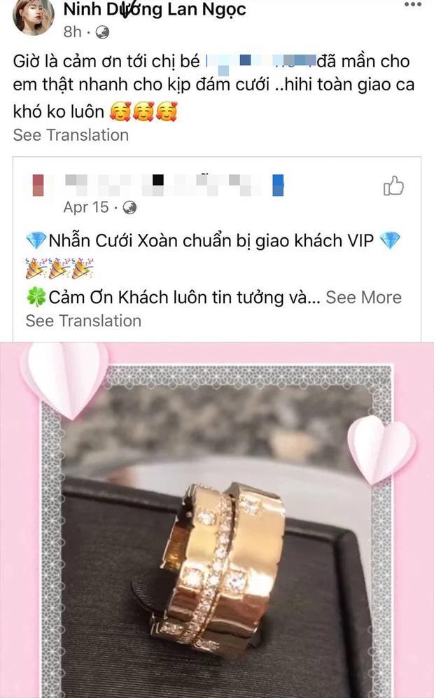 Lan Ngọc: Tặng bộ nhẫn đính toàn kim cương, dùng êkip riêng hỗ trợ em dâu ngày cưới-1