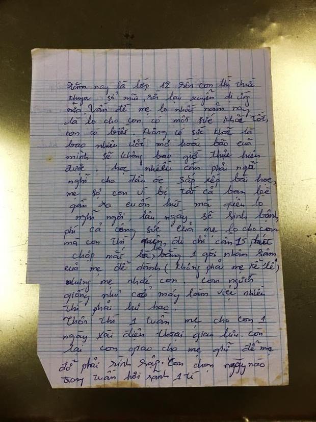 Lo con lơ là học tập, bà mẹ viết tâm thư đọc thấy rưng rưng nước mắt-1