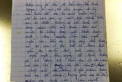 Lo con lơ là học tập, bà mẹ viết tâm thư đọc thấy rưng rưng nước mắt