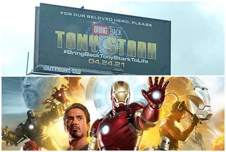 Fan 'Iron Man' đăng quảng cáo kêu gọi hồi sinh thần tượng
