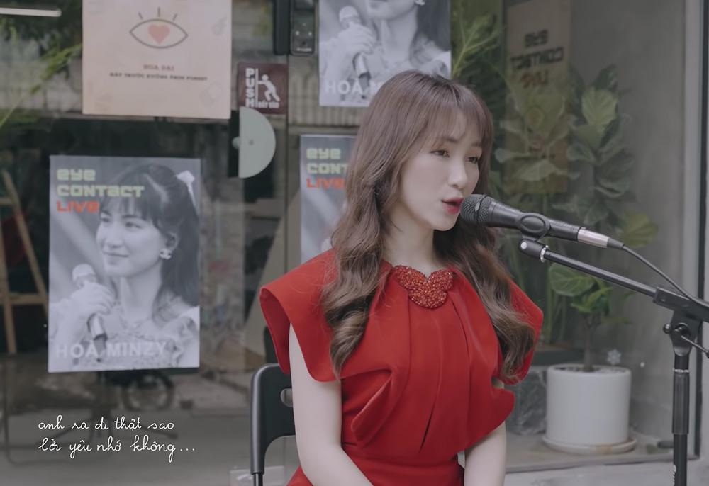 Hòa Minzy cover nhạc phim thời ô kìa, bị nhận xét nắn nót quá đâm mệt-3