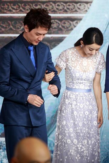 Hôn nhân Triệu Lệ Dĩnh - Phùng Thiệu Phong rạn nứt ngay sau cưới-2
