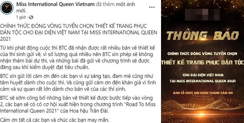 Cuộc thi quốc phục của Hương Giang - Trân Đài dính phốt-4