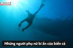 Nghề lặn biển mò ngọc trai của phụ nữ Nhật Bản