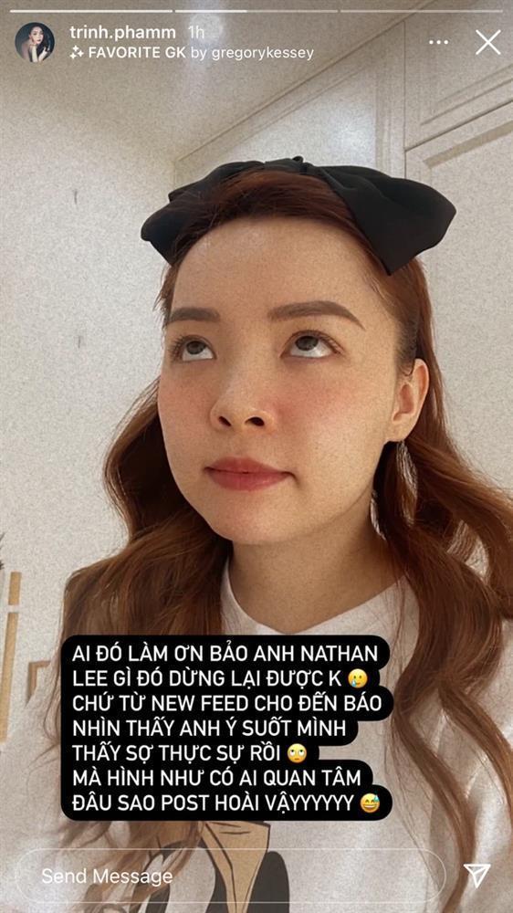 Khuyên Nathan Lee ngừng chiến, Trinh Phạm bị tế thấy thương-1