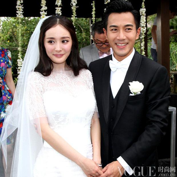 Hôn nhân của 5 tiểu Hoa đán: Toang gần hết, Angela Baby mấp mé ly hôn, Triệu Lệ Dĩnh tủi nhất-1