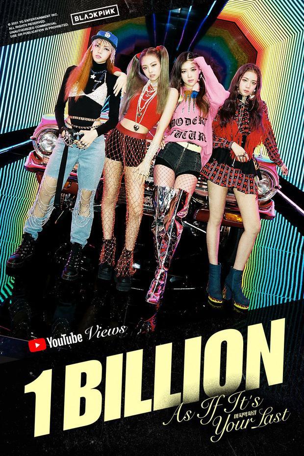 As If Its Your Last cán mốc 1 tỷ view, BLACKPINK và BTS lại so kè gay gắt-2