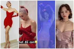 Tóc Tiên - Kỳ Duyên - Miu Lê lộ body đô con khác xa ảnh đã photoshop