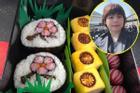 Mẹ Việt ở Nhật mang cảnh sắc Nhật Bản vào cơm cuộn nhìn đẹp chẳng nỡ ăn