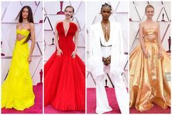 10 bộ cánh khoét ngực bạo liệt nhất ở thảm đỏ Oscar 2021