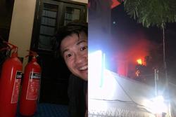 Phillip Nguyễn được khen dũng cảm, bê bình cứu hỏa dập đám cháy lớn gần nhà