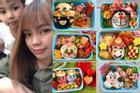 Mẹ Việt ở Nhật làm cơm bento sinh động như phim hoạt hình, con hào hứng đến trường