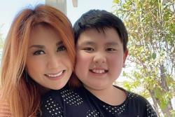 Vợ cũ Bằng Kiều xót xa khi nhìn con trai 10 tuổi giảm cân
