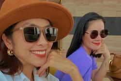 Tăng Thanh Hà bị đàn chị thân thiết 'bơ đẹp'