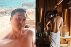 Quang Vinh - Lý Quí Khánh cùng đi du lịch, chụp hình mát mẻ cho nhau?