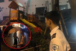 Cả dàn điều hòa chung cư ở Hà Nội đổ sập xuống sân chơi trẻ em