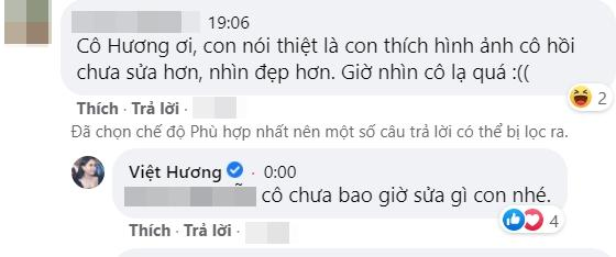 Việt Hương phản ứng trước nhận xét sửa mặt lạ hoắc-3