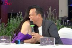 Phương Khánh và bầu cũ gây ngạc nhiên khi tay bắt mặt mừng