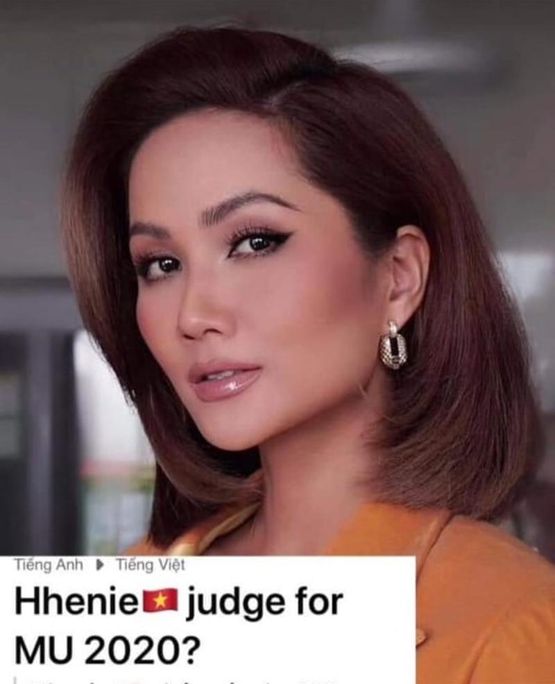 HHen Niê nói gì trước tin làm giám khảo Miss Universe 2020?-1