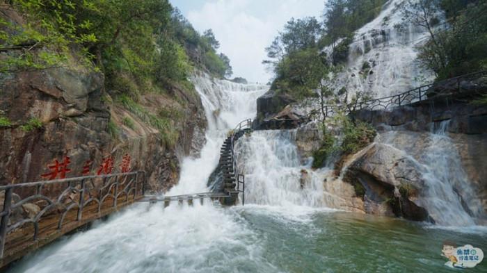 Thác nước cao nhất Trung Quốc xuất hiện trở lại sau 60 năm khô cạn-9