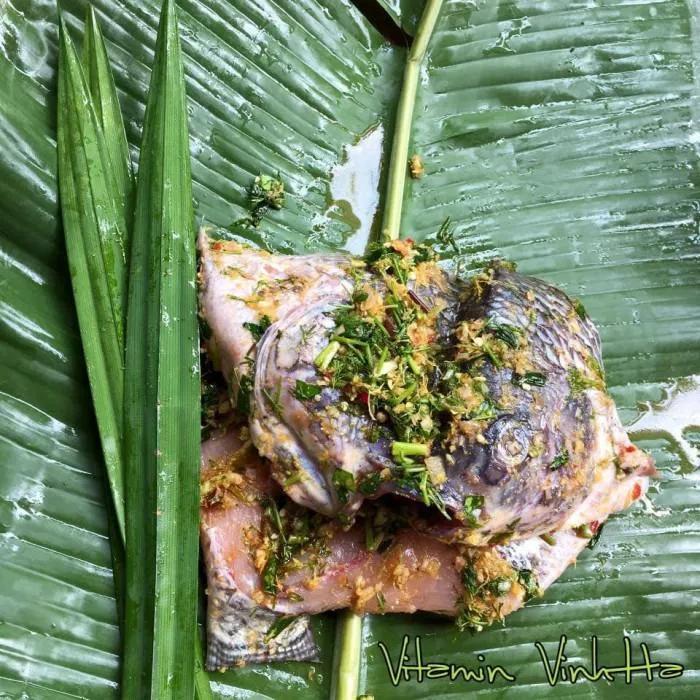 Nghỉ lễ vào bếp làm món cá nướng kiểu Lào, cả nhà thích mê-4