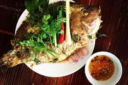Nghỉ lễ vào bếp làm món cá nướng kiểu Lào, cả nhà thích mê