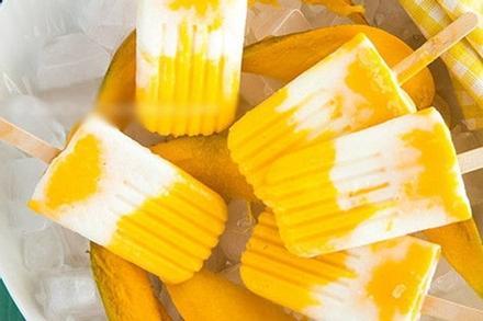 Cách làm kem xoài tươi không sữa đặc tại nhà