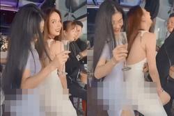 Ngọc Trinh bị 'ném đá' với clip gợi dục cùng bạn thân