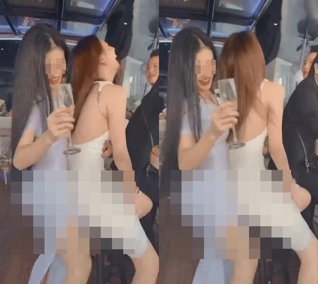 Ngọc Trinh bị ném đá với clip gợi dục cùng bạn thân-2