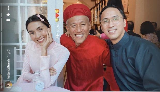 Louis Nguyễn - Tăng Thanh Hà gây sốt với ảnh trao nhận sính lễ-4