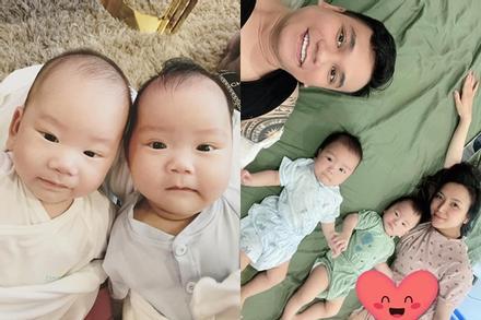 Nhà Khắc Việt lên sóng, diện mạo cặp song sinh chiếm spotlight