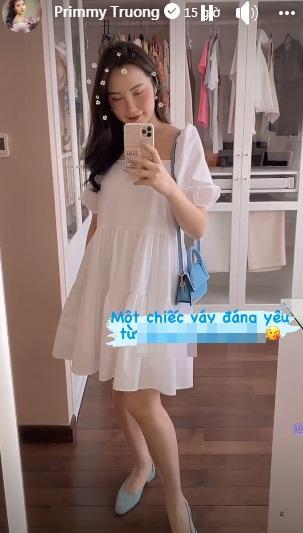 Bằng chứng củng cố Primmy Trương mang thai-1