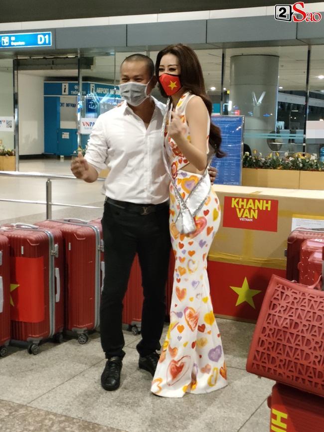 Khánh Vân ghi điểm tuyệt đối khi lên đường thi Miss Universe 2020-1