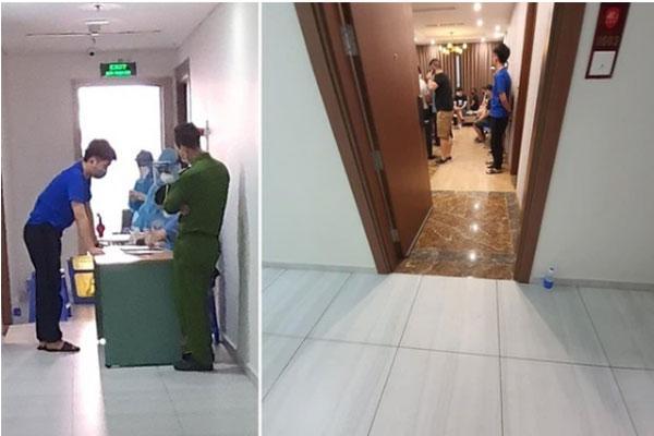 Phát hiện hơn 40 người Trung Quốc nhập cảnh trái phép, thuê chung cư sống ở Hà Nội-1