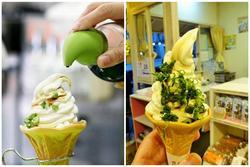 Độc lạ món kem hành lá nước tương cho team không thích đồ ngọt
