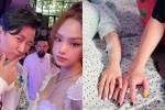 Karik đăng ảnh nắm tay cô gái giấu mặt, cư dân mạng 'lùng' ngay ra Miu Lê?