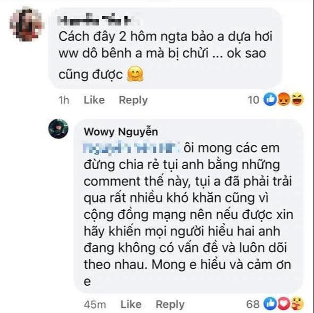 Wowy năn nỉ netizen không chia rẽ tình bạn với Karik bằng những tin đồn vô căn cứ-5