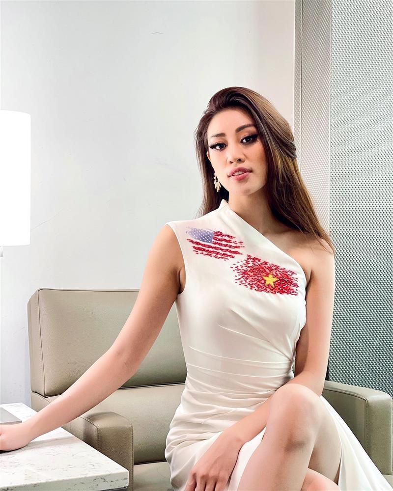 Khánh Vân gặp đối thủ Miss Universe đầu tiên, màn đọ sắc rơi vào bế tắc-5