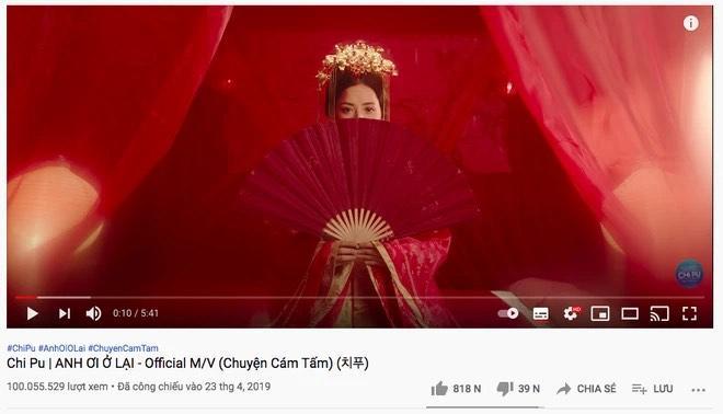 Chi Pu có MV đầu tiên cán mốc 100 triệu view kể từ khi cầm mic lên là thành ca sĩ-2